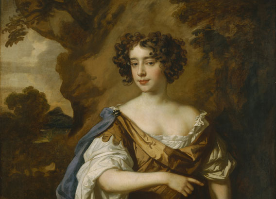 Later Stuart Portraits Catalogue, painting of Catherine Sedley, Countess of Dorchester by Sir Peter Lely