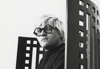 Photograph of David Hockney by Photographer Godfrey Argent Stagg