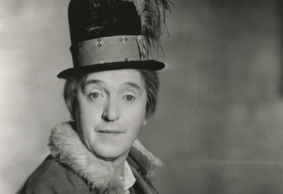 Photograph of Comedian Stan Laurel by Photographer Stagg
