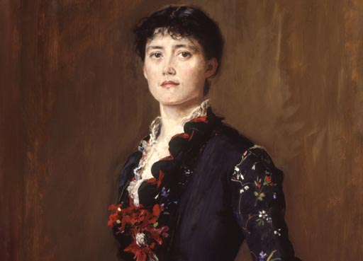 Later Victorian Portraits, painting of Louise Jane Jopling by Sir John Everett Millais, 1st Bt
