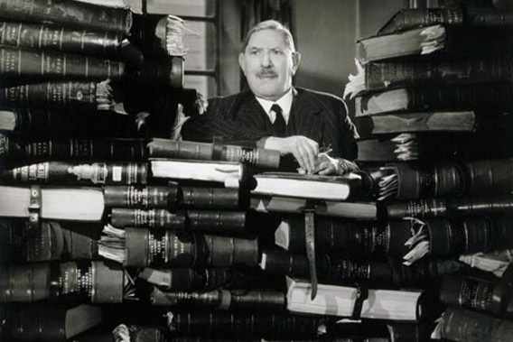 Research Gallery records, print of Sir Bruce Stirling Ingram by Angus McBean