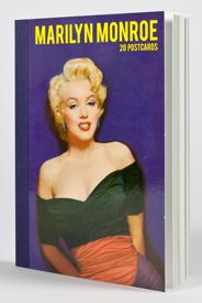 Marilyn Monroe: A great British love affair postcard book