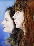 Friendship Portraits: Chantal Joffe and Ishbel Myerscough