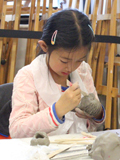 Family Art Workshop: Clay Portraits