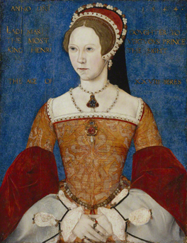 Queen Mary I by Master John 1544 NPG 428