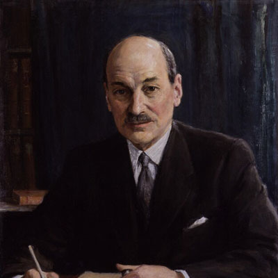 Portrait of the Day: Clement Attlee
