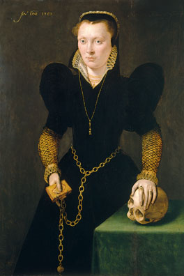 Katheryn of Berain, 'The Mother of Wales' (c.1540–91) by Netherlandish artist, dated 1568. National Museum of Wales, Cardiff