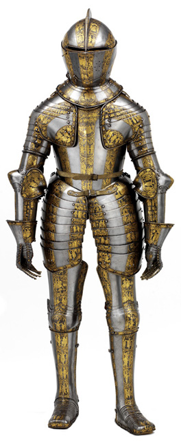 Prince Henry's Armour, Dutch, c. 1608 © Board of Trustees of the Armouries