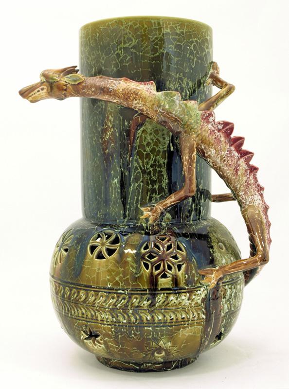 Making A Mark Dragonware Vase Designed By Christopher Dresser