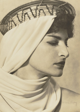 Juliet with Brazilian Headdress, 1945 by Man Ray The J. Paul Getty Museum, Los Angeles, 84.XM.1000.69 © Man Ray Trust ARS-ADAGP