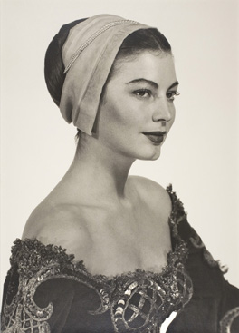Ava Gardner in costume for Albert Lewin's Pandora and the Flying Dutchman, 1950 by Man Ray Man Ray Trust © Man Ray Trust/ADAGP/DACS