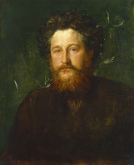 William Morris by G.F. Watts, 1870 © National Portrait Gallery, London