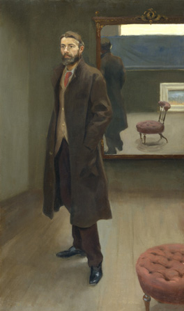 Edward Carpenter by Roger Fry, 1894 © National Portrait Gallery, London