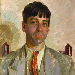 Sir Stanley Spencer  by Henry Lamb oil on canvas, 1928, NPG 4527 © National Portrait Gallery, London