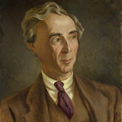 Bertrand Arthur William Russell, 3rd Earl Russell  by Roger Fry oil on canvas, circa 1923, NPG 4832 © National Portrait Gallery, London