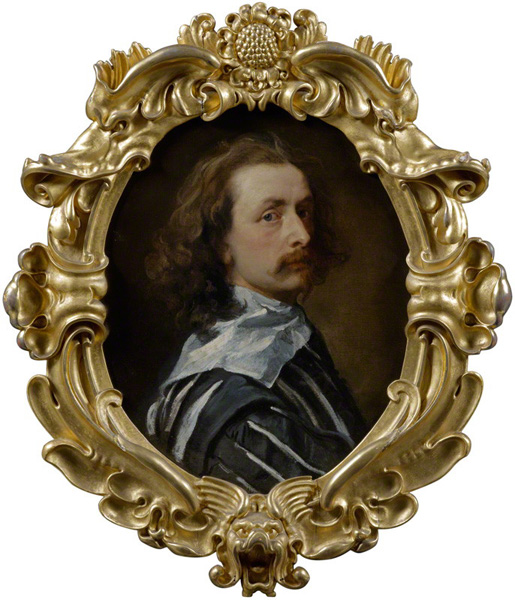 Self-portrait by Sir Anthony van Dyck, 1640-1 © National Portrait Gallery, London