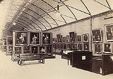The National Portrait Gallery in the Bethnal Green Museum