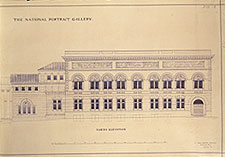 Christian's original design for the north front
