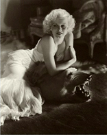 Jean Harlow by George Hurrell, January 1934 - © Condé Nast Publications Inc/ Courtesy of Condé Nast Archive