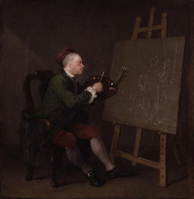 William Hogarth self-portrait