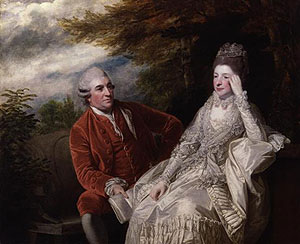 David and Eva Maria Garrick