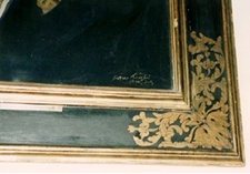 Fig. 1 Cassetta frame in the Italian Renaissance style on Henry, 5th Marquess of Lansdowne, 1920 (National Portrait Gallery)