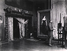 Sargent in his studio
