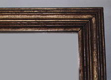 Narrow gilt moulding frame