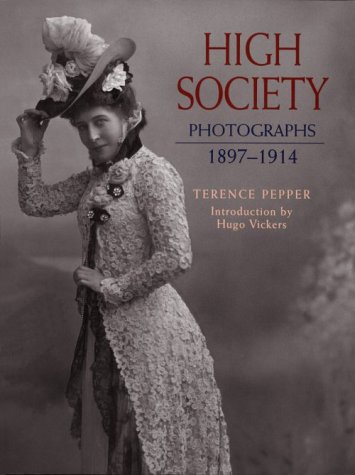 High Society: Photographs cover