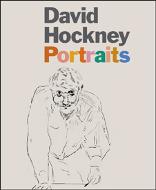 David Hockney Portraits cover