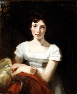 Mary Freer by John Constable, 1809 - © Yale Center for British Art, Paul Mellon Collection