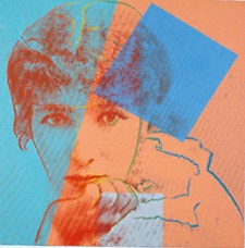 Sarah Bernhardt by Andy Warhol, 1980 - © Private Collection