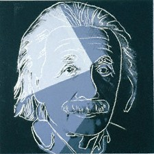 Albert Einstein by Andy Warhol, 1980 - © Private Collection