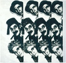 The Marx Brothers by Andy Warhol, 1980 - © Private Collec