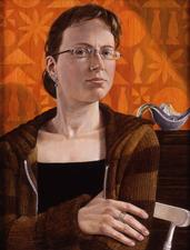 Louise Tiplady by Paul Harris  oil on canvas - © The Artist