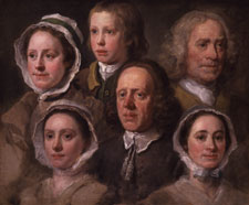 Heads of Six of Hogarth's Servants William Hogarth, c 1750-5 - © Tate London, 2002