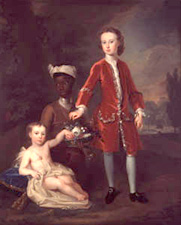 The Hon. John and the Hon. Thomas Hamilton with a Negro Servant William Aikman, 1728 The Mellerstain Trust