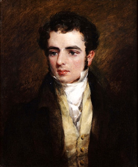 Dr Herbert Evans by John Constable,?1829 Private Collection