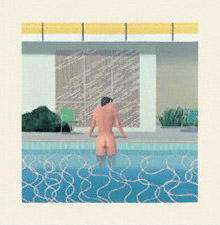 Peter Getting Out of Nick's Pool by David Hockney, 1966 - © David Hockney