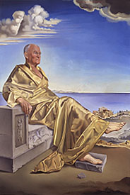 La Turbie (Portrait of Sir James Dunn) by Salvador Dali, 1948 - © DACS, The Beaverbrook Canadian Foundation, The Beaverbrook Art Gallery, Frederickton, N.B., Canada