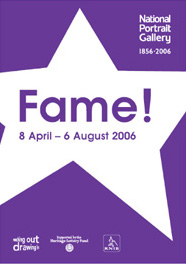 Fame! exhibition poster