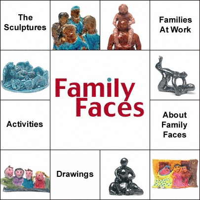 Family Faces banner
