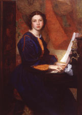 Alice Prinsep by G.F. Watts, 1860 Private Collection