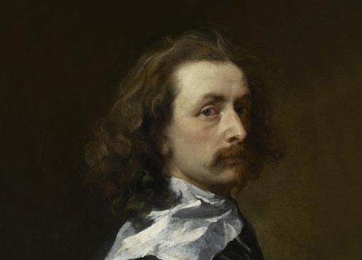 Sir Anthony van Dyck (detail) by Sir Anthony van Dyck © National Portrait Gallery, London