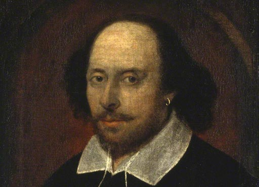 William Shakespeare (detail) associated with John Taylor © National Portrait Gallery, London