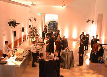 Private view in Main Hall