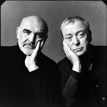 Sean Connery & Michael Caine by Michael O'Neill