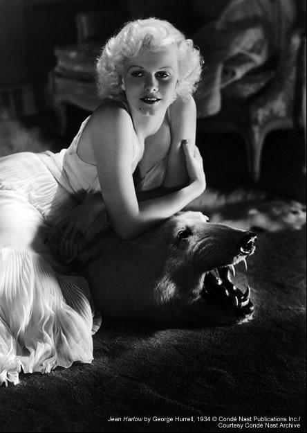 Image of Jean Harlow by George Hurrell